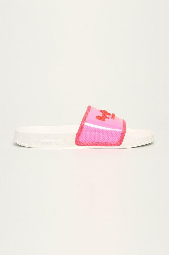 sýto ružová Pepe Jeans - Šľapky Dámsky
