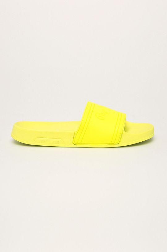 svetložltá Pepe Jeans - Šľapky Slider Unisex Dámsky