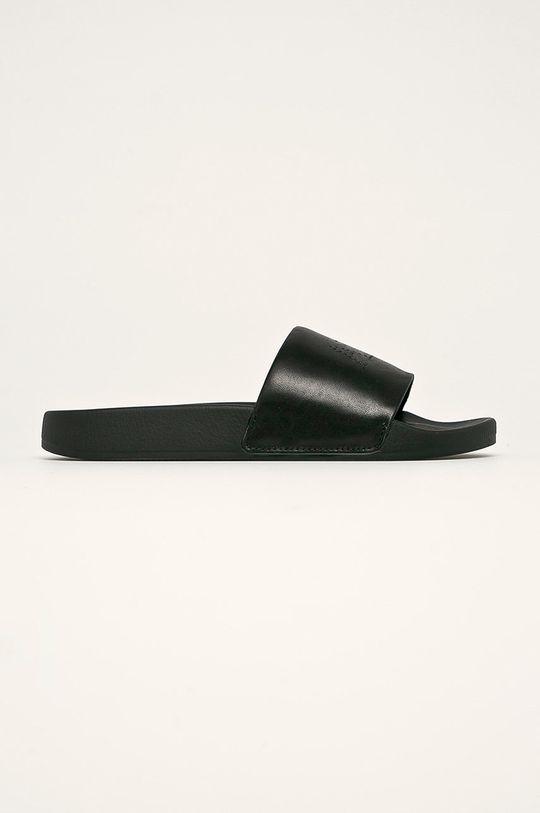 černá AllSaints - Kožené pantofle Karli Dámský
