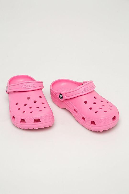 Crocs - Papucs cipő rózsaszín