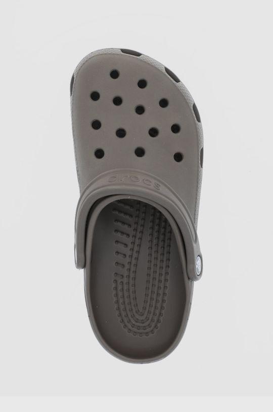 ciemny brązowy Crocs - Klapki