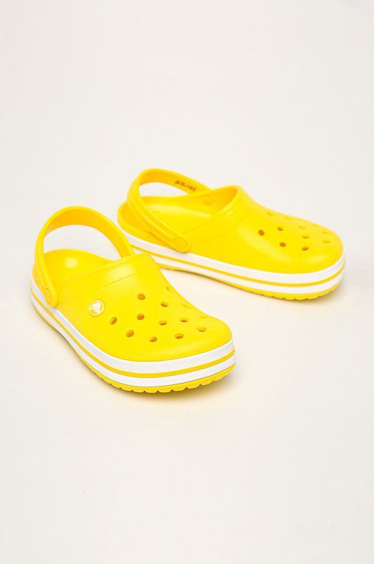 Crocs - Papuci galben