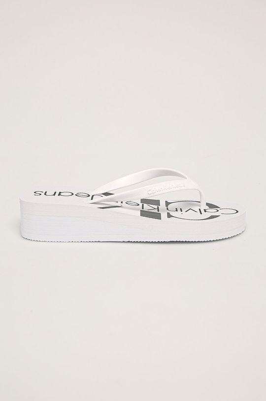 biela Calvin Klein - Žabky Dámsky