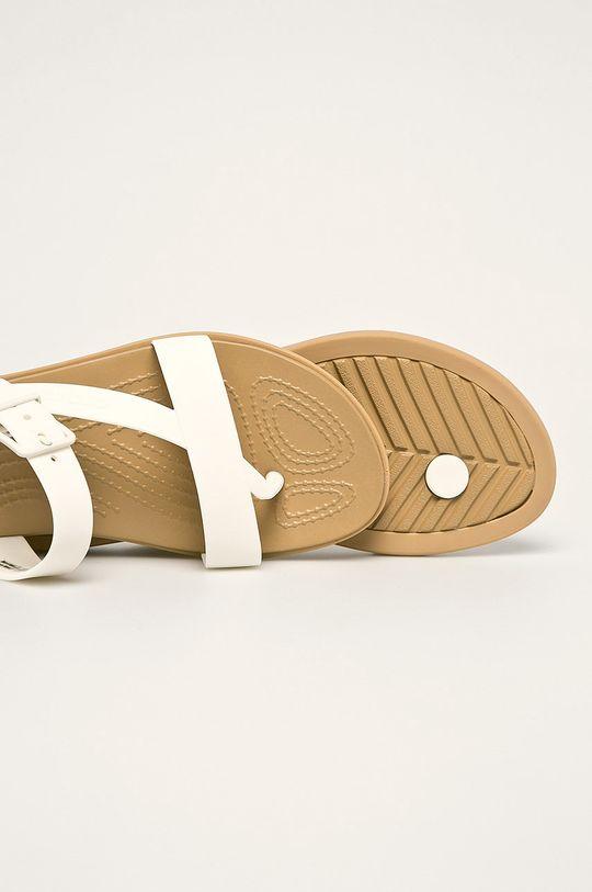 biały Crocs - Klapki