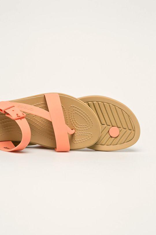 oranžová Crocs - Šľapky