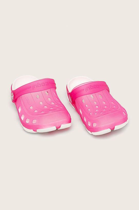 Coqui - Dětské pantofle ostrá růžová