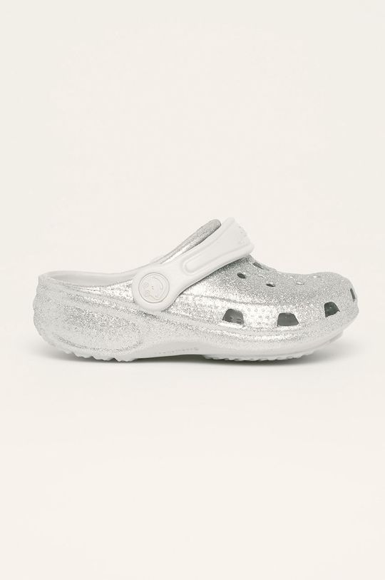 stříbrná Coqui - Dětské pantofle Dívčí