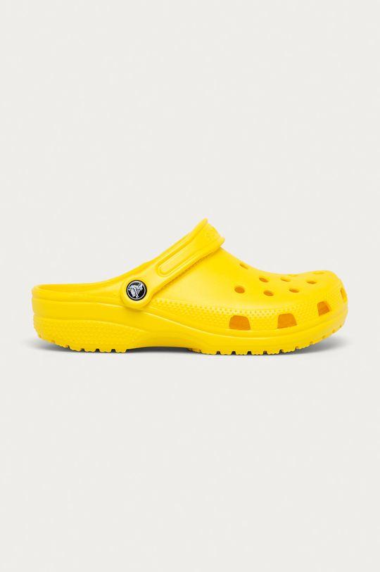 žlutá Crocs - Dětské pantofle Dívčí