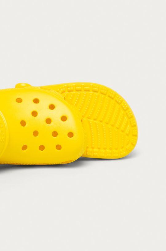 žlutá Crocs - Dětské pantofle