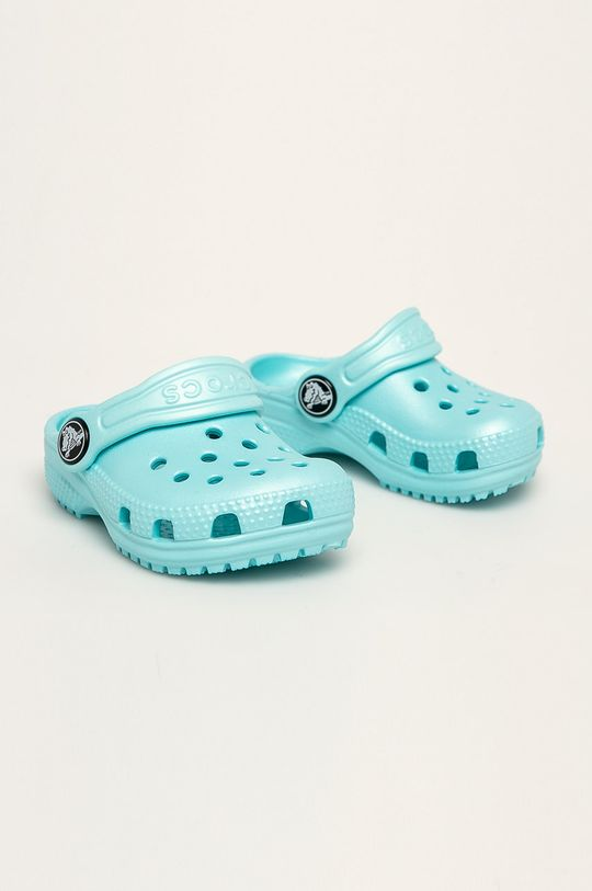 Crocs - Dětské pantofle světle modrá