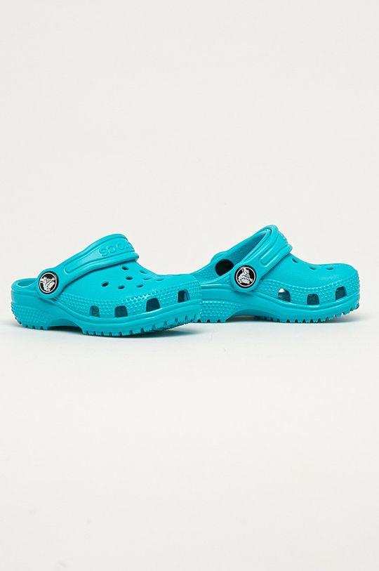 Crocs - Klapki dziecięce miętowy
