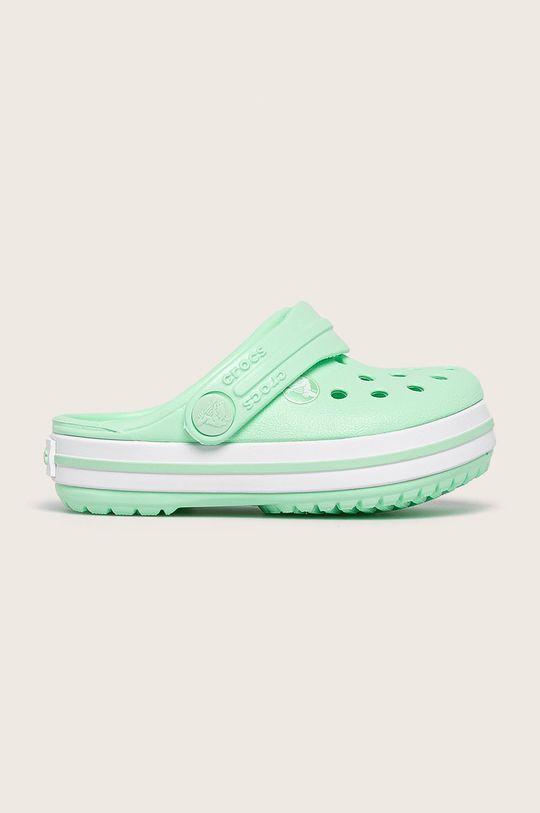jasny zielony Crocs - Klapki dziecięce Dziewczęcy
