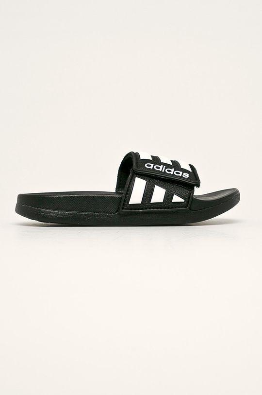 černá adidas - Dětské pantofle Dětský