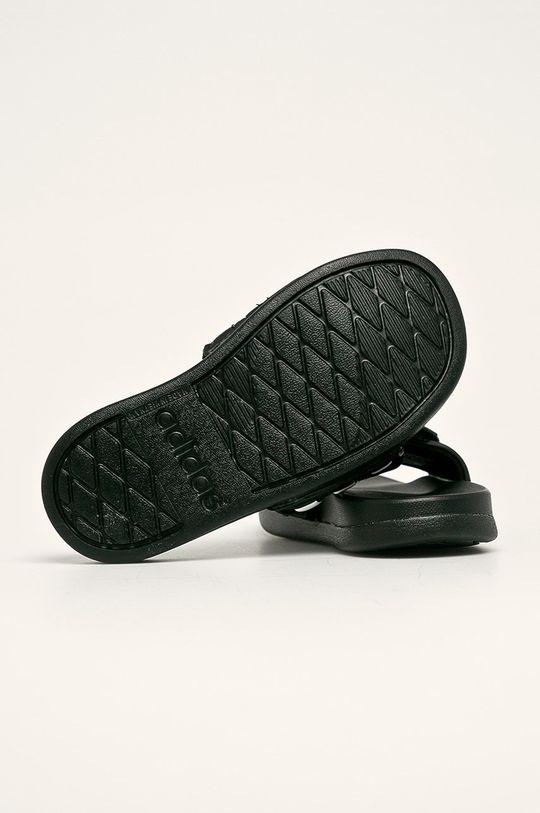 černá adidas - Dětské pantofle