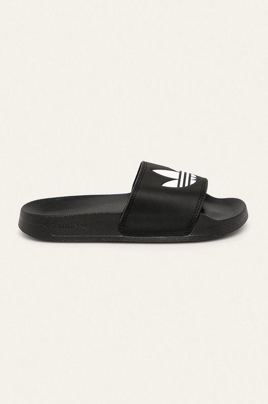 černá adidas Originals - Dětské pantofle Dětský