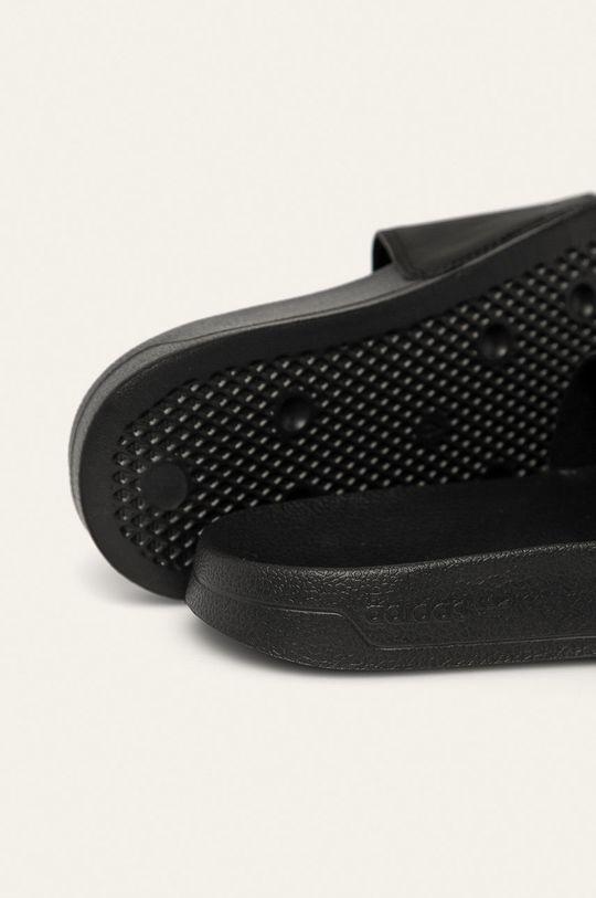černá adidas Originals - Dětské pantofle