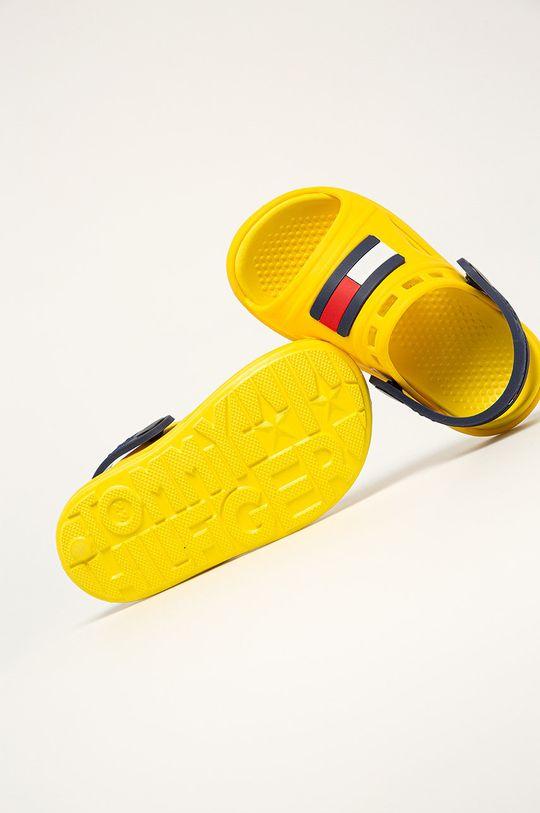 żółty Tommy Hilfiger - Klapki dziecięce