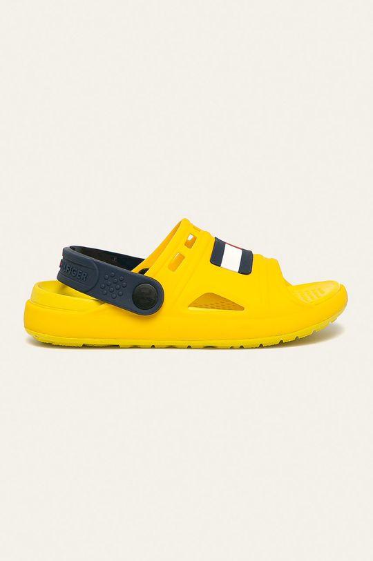žlutá Tommy Hilfiger - Dětské sandály Dětský