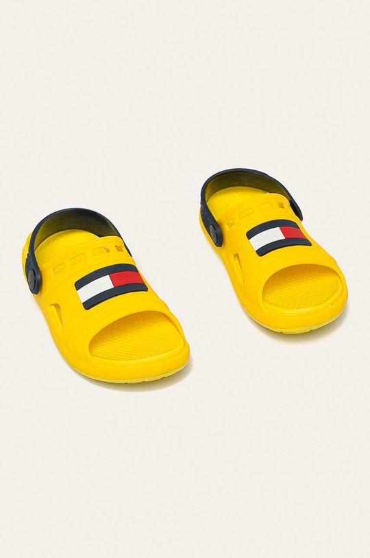 Tommy Hilfiger - Dětské sandály žlutá