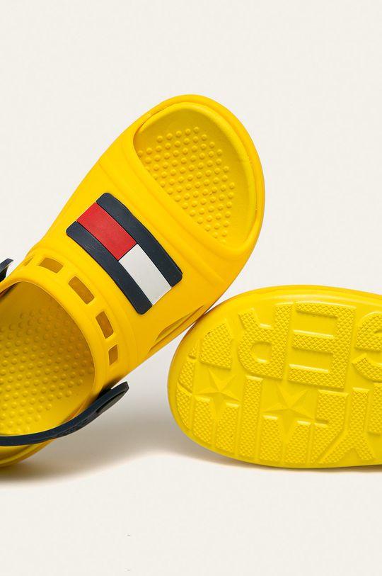 žlutá Tommy Hilfiger - Dětské sandály