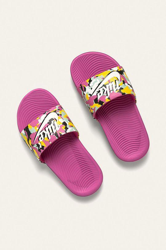Nike Kids - Papuci Nike Kawa Se Mc roz