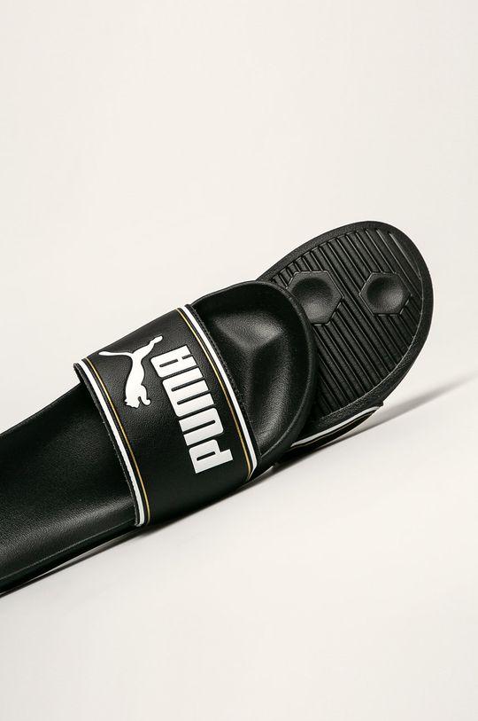 čierna Puma - Šľapky