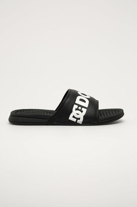 černá Dc - Pantofle Pánský