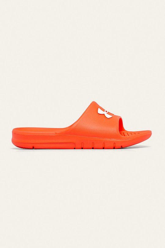 oranžová Under Armour - Pantofle Pánský