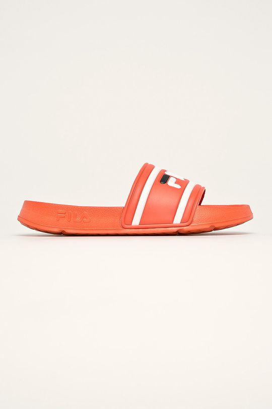 oranžová Fila - Pantofle Pánský