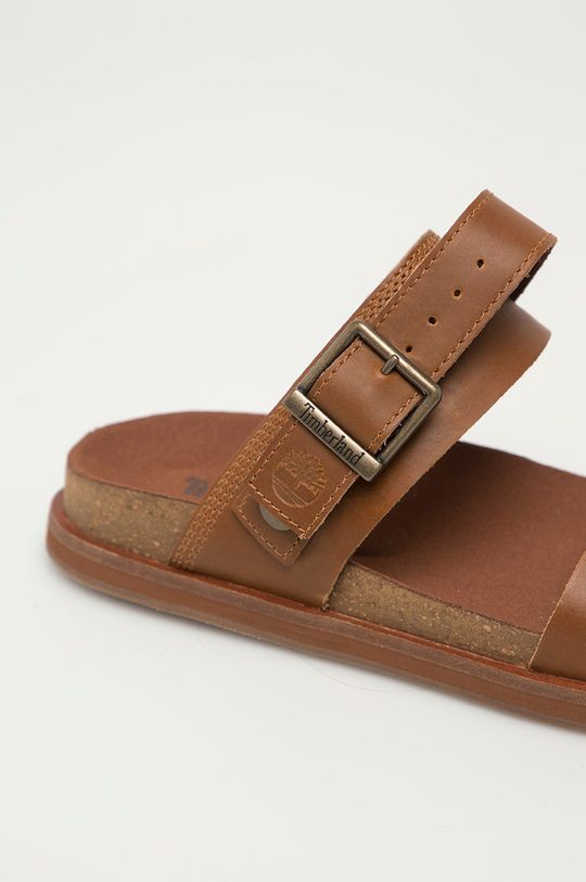 brązowy Timberland - Sandały skórzane Amlfi Vibes