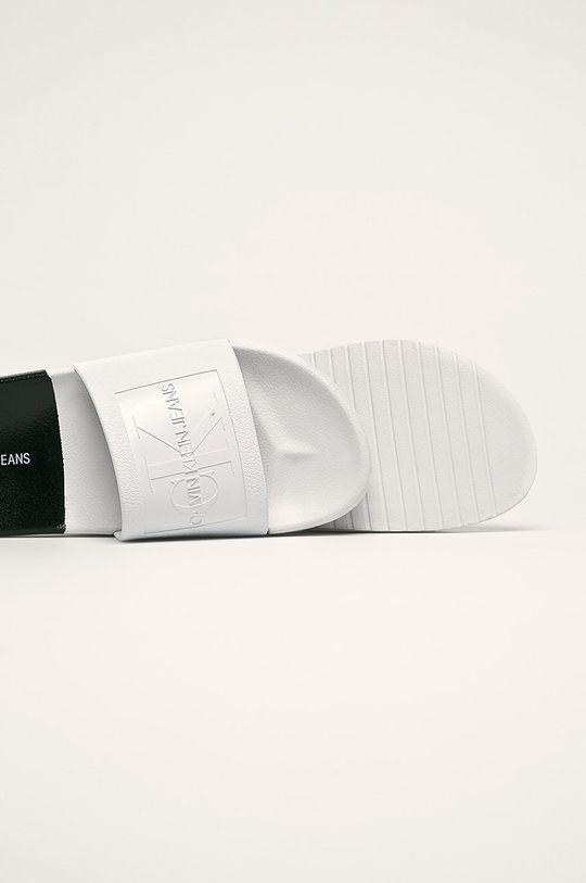 Calvin Klein Jeans - Šľapky  Syntetická látka