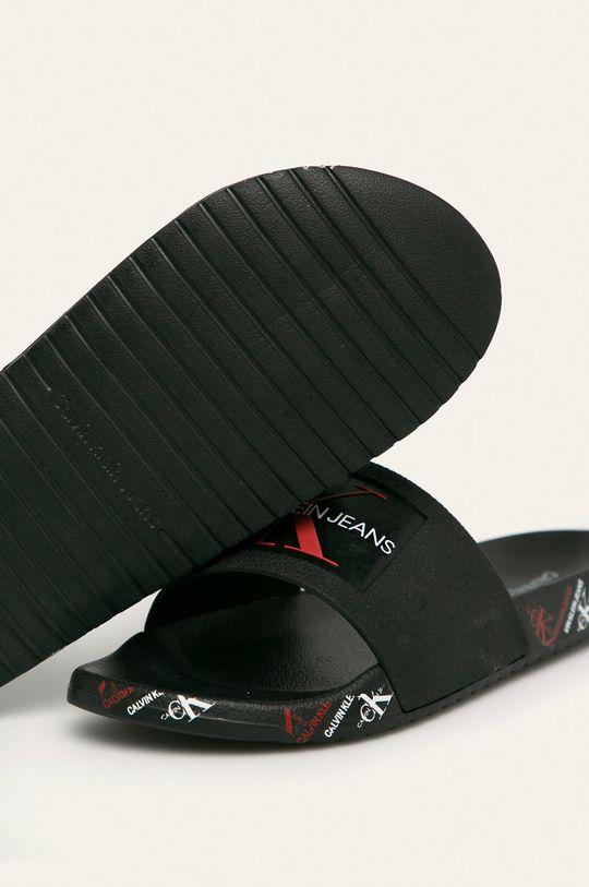 Calvin Klein Jeans - Šľapky čierna