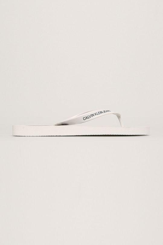 biela Calvin Klein Jeans - Žabky Pánsky