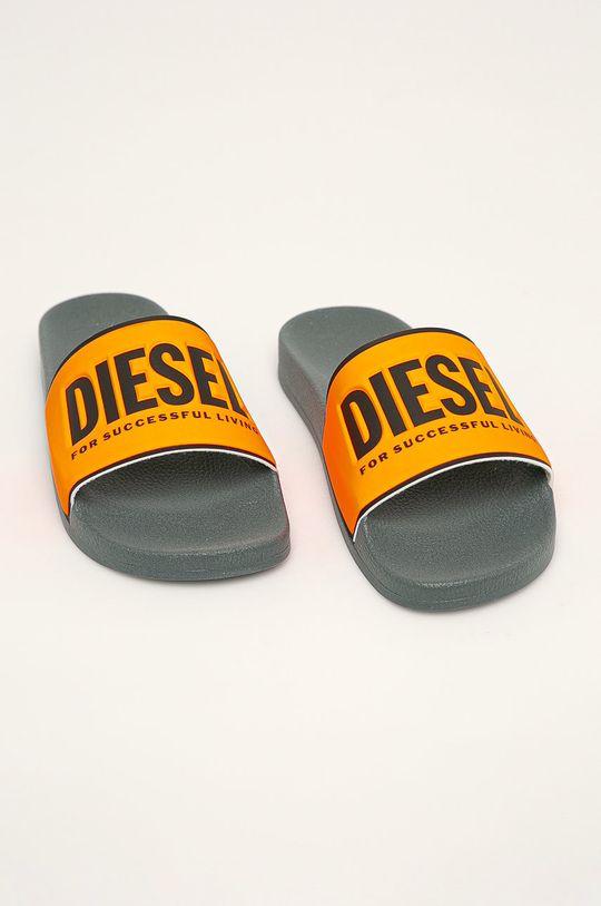 Diesel - Pantofle oranžová