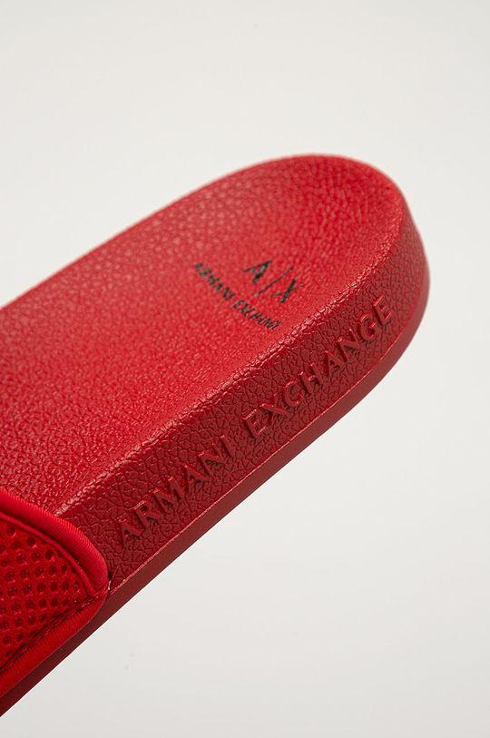 Armani Exchange - Šľapky  Zvršok: Textil Vnútro: Textil Podrážka: Syntetická látka