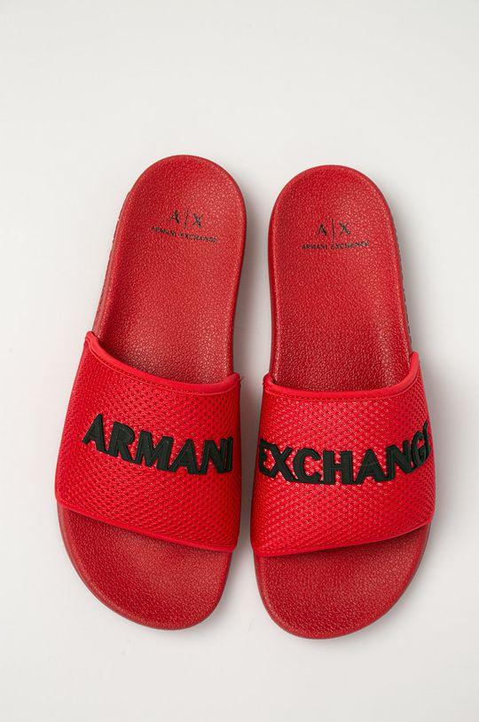 červená Armani Exchange - Šľapky
