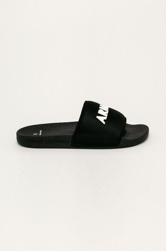 černá Armani Exchange - Pantofle Pánský