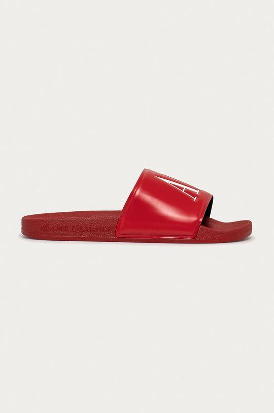 červená Armani Exchange - Pantofle Pánský