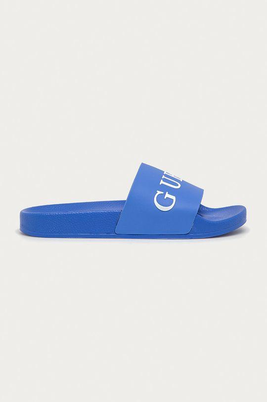 modrá Guess Jeans - Pantofle Pánský