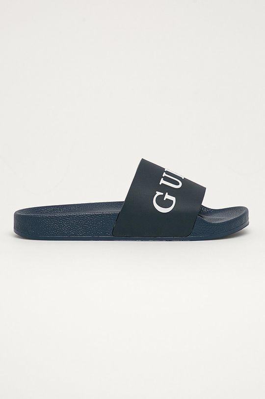 námořnická modř Guess Jeans - Pantofle Pánský
