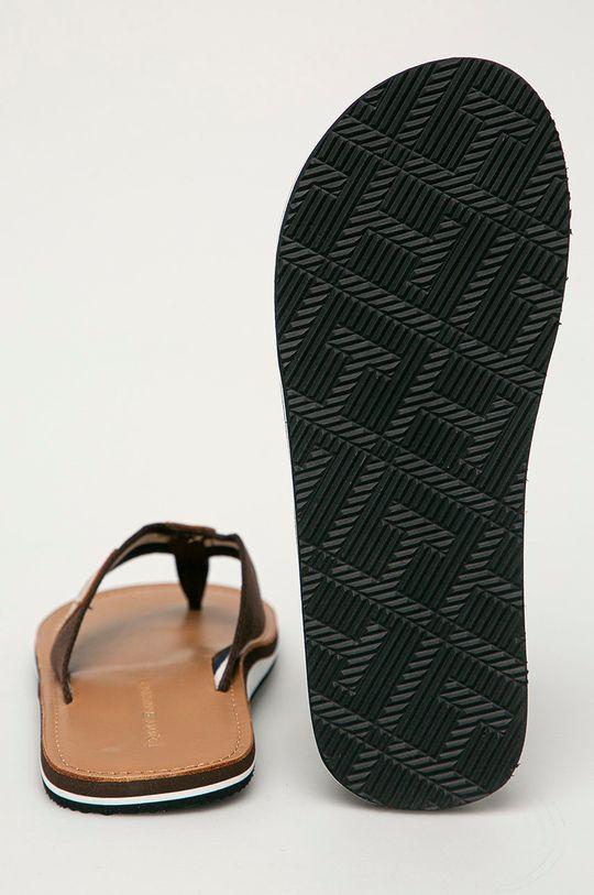 Tommy Hilfiger - Japonki Cholewka: Materiał syntetyczny, Materiał tekstylny, Skóra naturalna, Wnętrze: Materiał tekstylny, Skóra naturalna, Podeszwa: Materiał syntetyczny