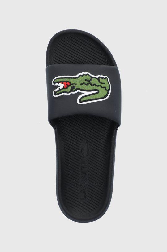 černá Lacoste - Pantofle Croco