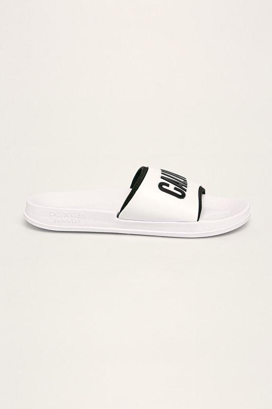 bílá Calvin Klein Underwear - Pantofle Pánský