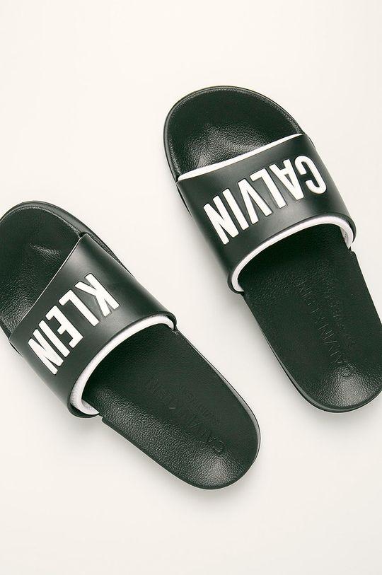 černá Calvin Klein Underwear - Pantofle