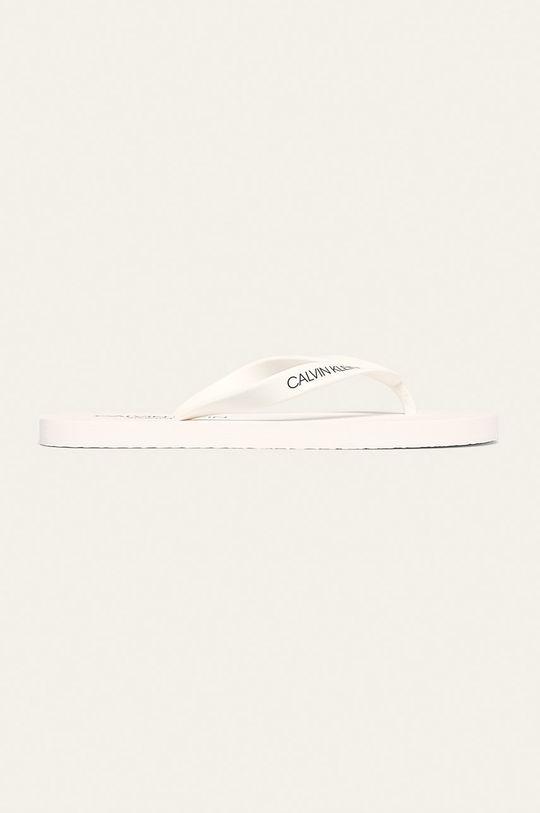 bílá Calvin Klein Underwear - žabky Pánský