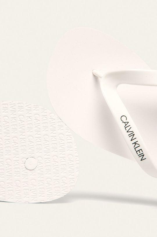 bílá Calvin Klein Underwear - žabky