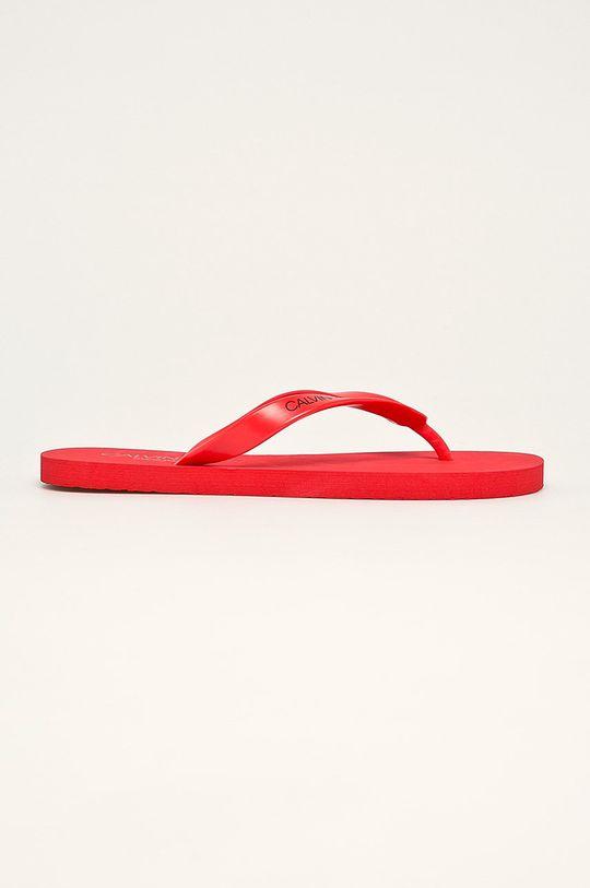 červená Calvin Klein Underwear - žabky Pánský