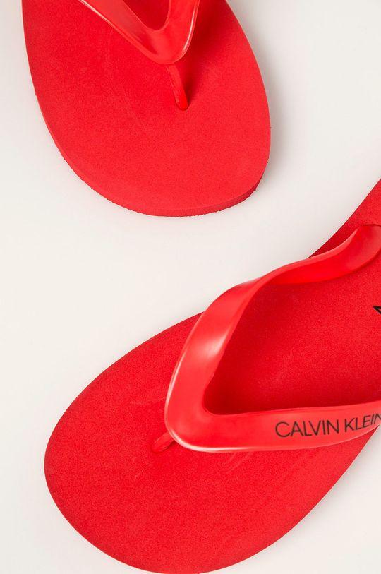červená Calvin Klein Underwear - žabky