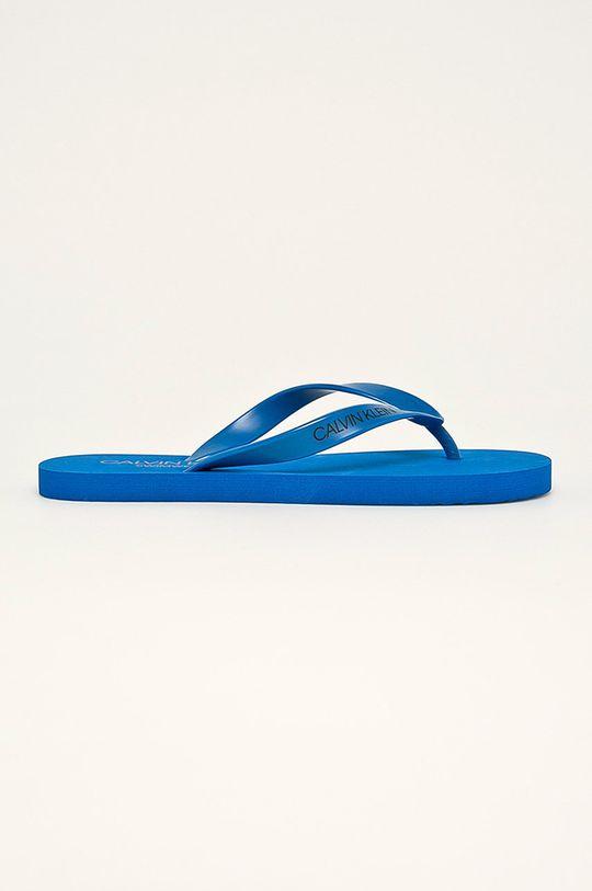 modrá Calvin Klein Underwear - žabky Pánský