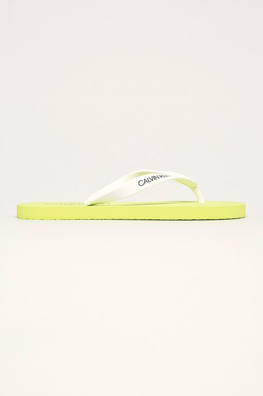 zelená Calvin Klein Underwear - žabky Pánský